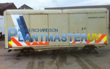 Ingersoll Rand 700 cfm compressor   Plantmaster UK