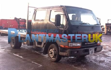 Mitsubishi Canter HD 3.5 ton Crew Cab – Flat | Plantmaster UK