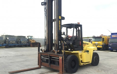 2008 Hyster H10.00XM 10 ton LPG Forklift | Plantmaster UK