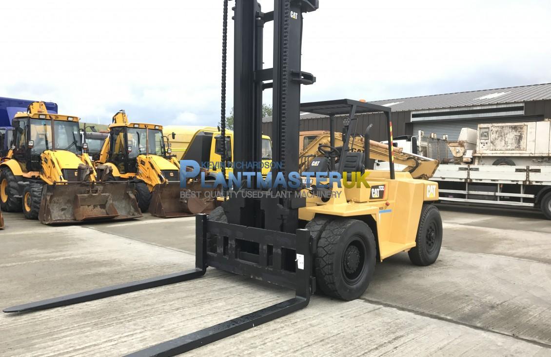 10 Ton Fork Lift Cat : Used caterpillar dp ton diesel forklift