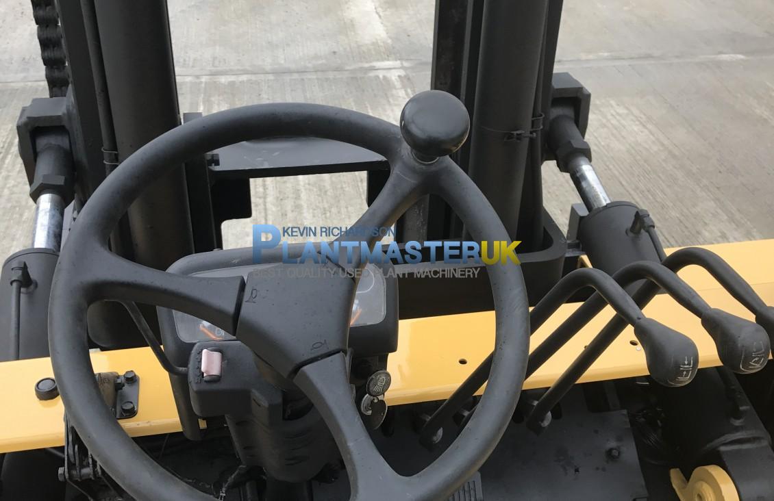 10 Ton Fork Lift Cat : Caterpillar dp ton diesel forklift for sale