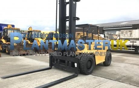 2007 Caterpillar DP 100. 10 ton Diesel Forklift   Plantmaster UK